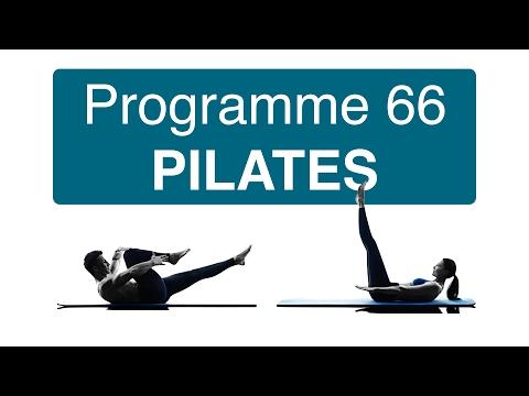 Programme 66 PILATES (Entrainement Pilates) 10 séances en vidéo pour tonifier, affiner votre corps.
