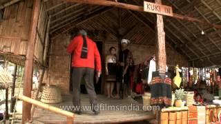 Kuki Inn - Traditional hut of the Kuki tribes of North-East India