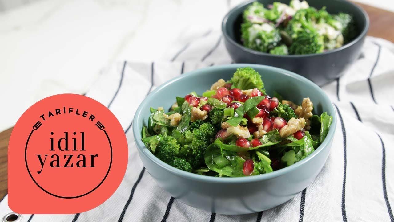 Narlı Brokoli Salatası Tarifi – Salata Tarifleri