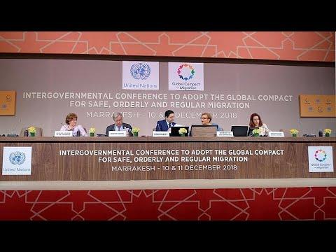 Pacto Global para a Migração foi formalmente adotado