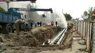 Царь-чопик, или ремонт водопровода по-пензенски(Видео с сайта http://www.penzainform.ru. На территории Горводоканала забил фонтан, струя поднялась на несколько метров...., 2016-09-11T12:52:02.000Z)