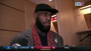 Despite Cleveland Cavaliers victory, LeBron James gives himself an 'F' on the report card
