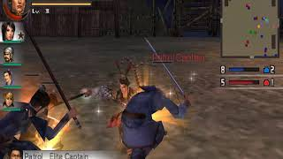 Dynasty Warriors Vol 2 PSP - Lu Bu Gameplay
