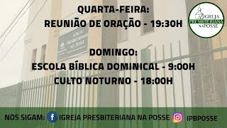 Culto Doutrinário - 20.10.21