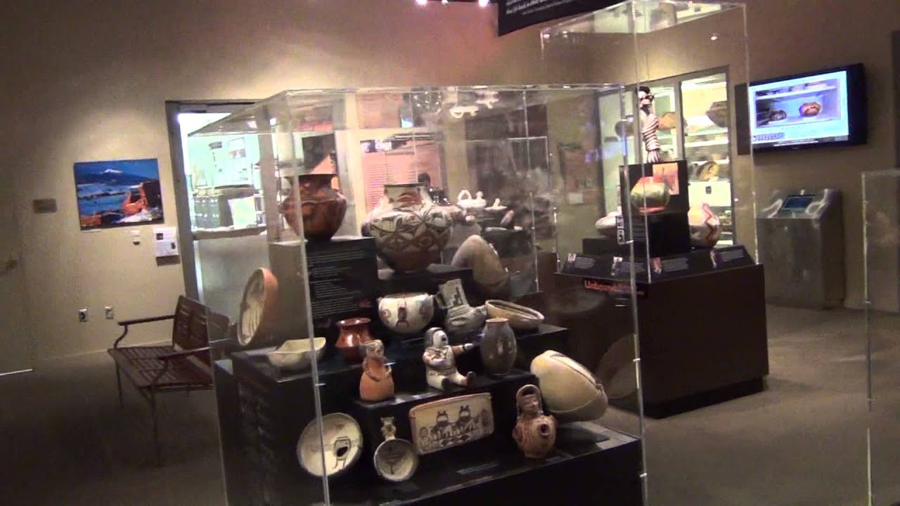 671cd1d4a7 Arizona State Museum - Pottery Weaving Exhibit Tour - YouTube