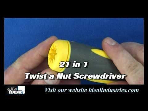 21 in 1 Twist a Nut 35 688 Video