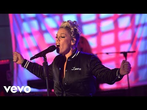 Pink - try - live