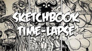 Sketchbook Time-Lapse | DWM 31-35