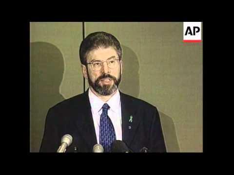 USA/UK/IRELAND: REACTION TO NOBEL PEACE PRIZE WINNERS (2)