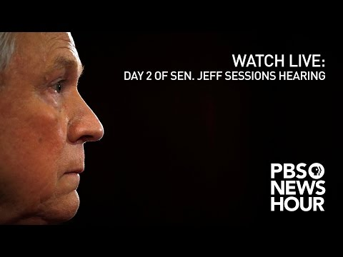 WATCH LIVE: Day 2 of Sen. Jeff Sessions confirmation hearing