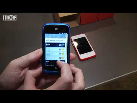 Hands-on with ZTE Open, Firefox OS phone