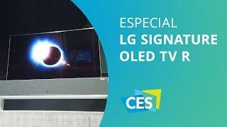 TV enrolável da LG [CES 2019]