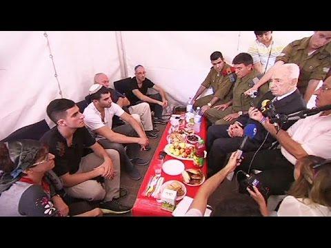 La peur au ventre des Israëliens face aux roquettes poster