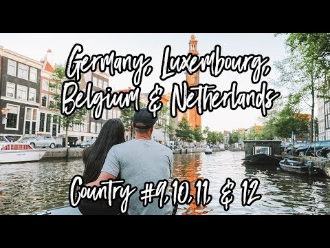 Germany, Luxembourg, Belgium & Netherlands // Country #9, 10,11, 12