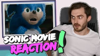 Sonic the Hedgehog Movie Trailer Reaction!