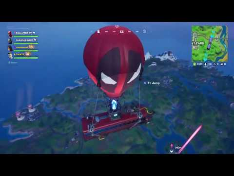 Fortnite - Claws And Paws Emote And Squad Gameplay