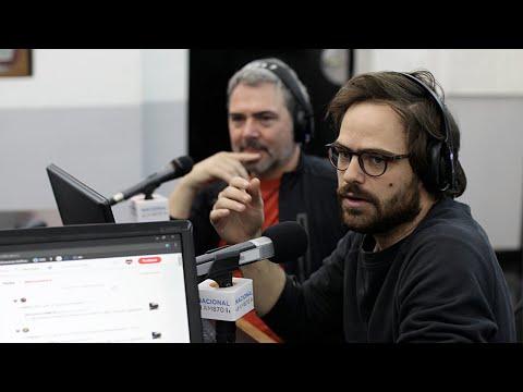 Entrevista a Peter Lanzani y Julio Panno en Radio Nacional