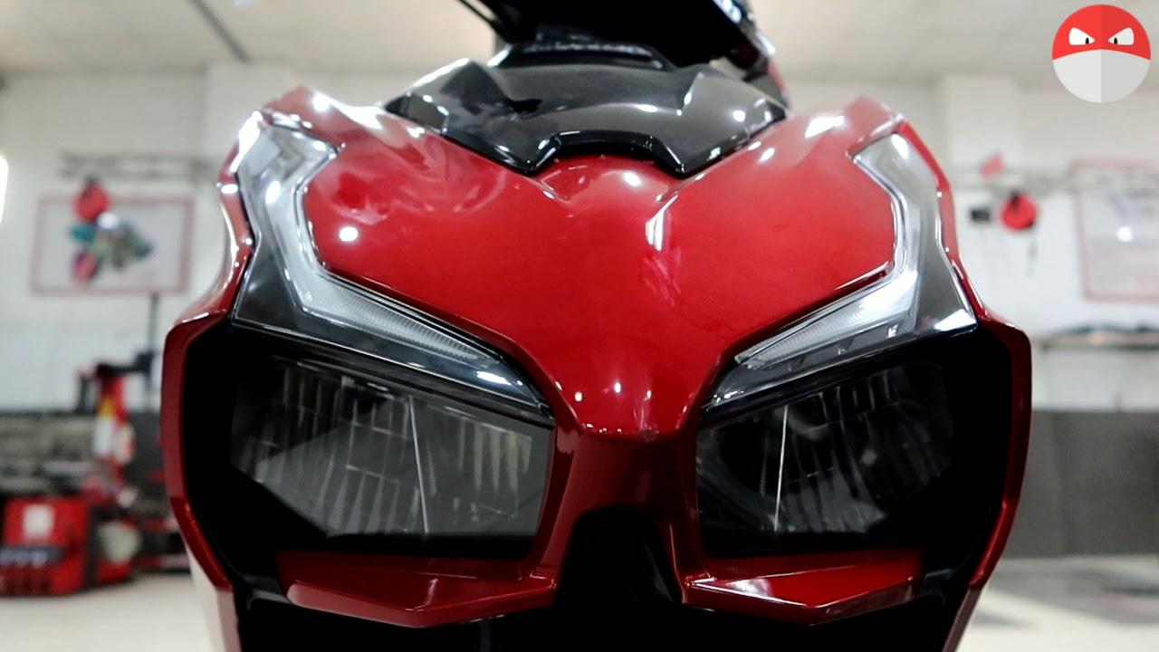 Soi chi tiết Air Blade 125 2020 xe đẹp dáng ngon nhưng ít chức năng hơn 150