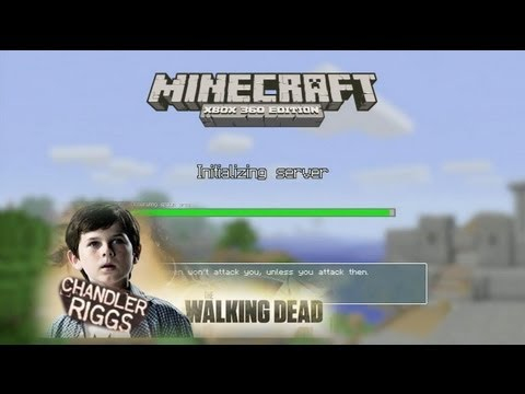 Joel and Jack play Minecraft with Chandler Riggs from Walking Dead!  Rooster Teeth