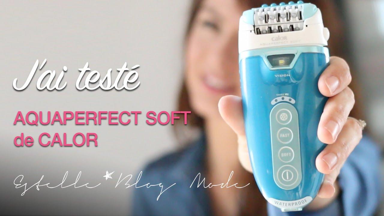 J Ai Teste Aquaperfect Soft De Calor Youtube