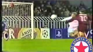 AC Sparta Praha - Real Madrid 2:3 (Liga mistrů, 2001/2002)