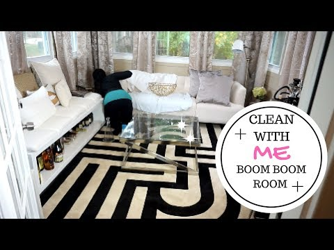 EVERYDAY CLEANING MOTIVATION ROUTINE | ENTERTAINMENT ROOM & DECORATING OUTSIDE DECK