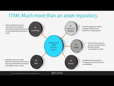 RAPA - IT Asset Management (ITAM) Maturity Model - LONG VERSION