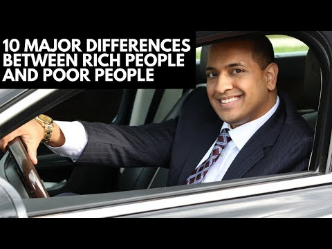 10 Major Differences Between Rich People and Poor People