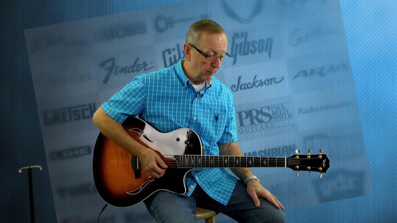 Used Guitars - 2006 Taylor T5-C1 Acoustic Electric Guitar Pro Setup