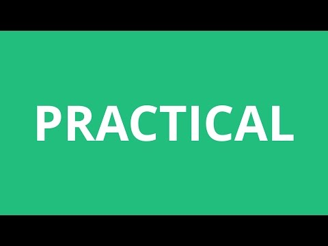 How To Pronounce Practical - Pronunciation Academy