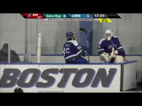 UMass Boston Men's Hockey vs. Salve Regina U. (12/30/16) Webcast
