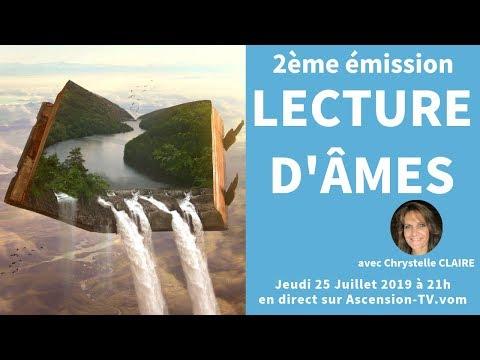 """[BANDE ANNONCE] 2ème émission : """"Lecture d'âmes"""" avec Chrystelle CLAIRE le 25/07/2019 à 21h"""