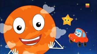 planetas canção | sistema solar | planet song | learn solar system | nursery rhyme | kids song