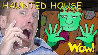 Haunted House for Kids | Halloween Songs for Children from Steve and Maggie | Wow English TV