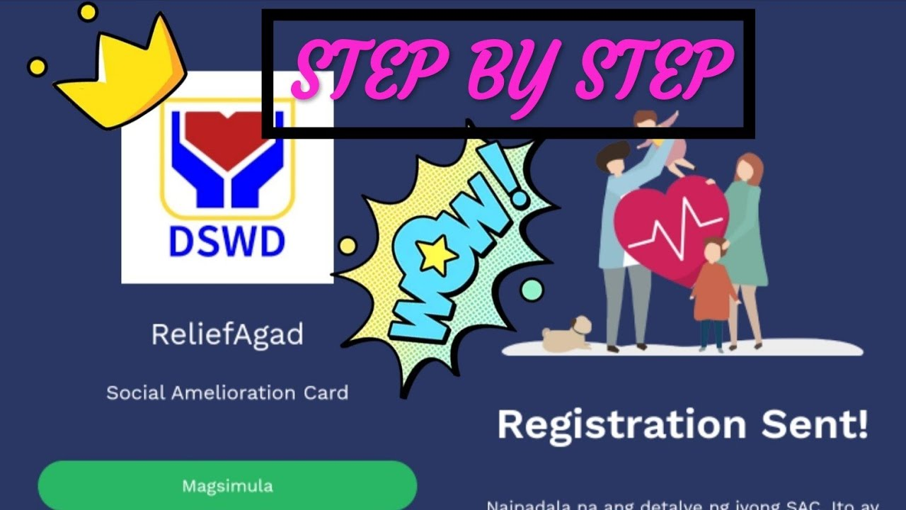 DSWD ONLINE FILL UP FOR SAP #DSWD #SAP #RELIEFAGAD