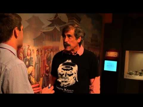 Franklin Institue: Don Lessem Explains his Ghengis Khan Exhibit