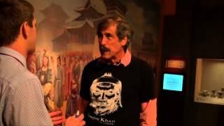Franklin Institue: Don Lessem Explains his Ghengis Khan Exhibit