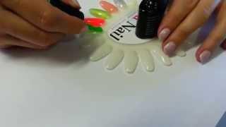 Блюскай цвет неон neon 010 Bluesky gel polish(, 2015-06-25T08:59:18.000Z)
