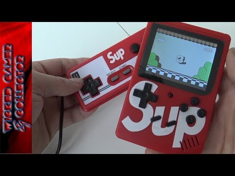 SUP 300 In 1 - Game Boy Clone Handheld Unboxing & Review