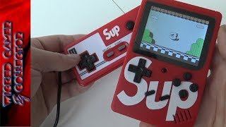 SUP 300 in 1 - Gąme Boy Clone Handheld Unboxing & Review
