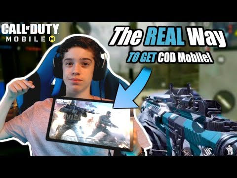 Call Of Duty Mobile Download RIGHT NOW On Android, IOS Coming Soon! // COD Mobile Download Tutorial
