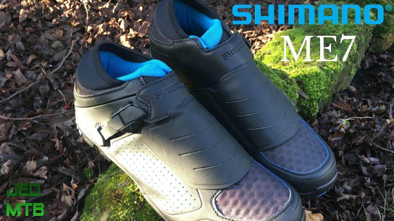 c8c92dae252 Shimano ME7 SPD MTB Shoes - YouTube