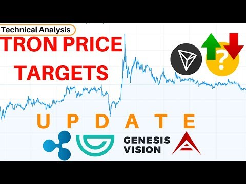 Tron Price Targets & Watson's Report! XRP, ARK, GVT Update