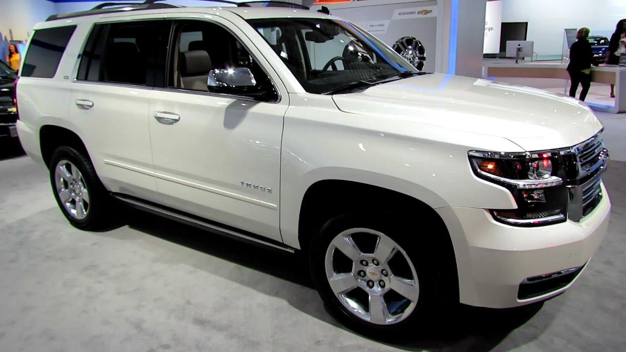 2015 Chevrolet Tahoe Ltz Exterior And Interior Walkaround 2014 New York Auto Show Youtube
