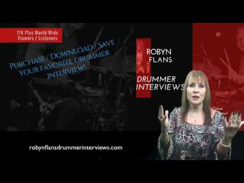 Be sure to visit Robyn's classic interview site @ www.robynflansdrummerinterviews.com