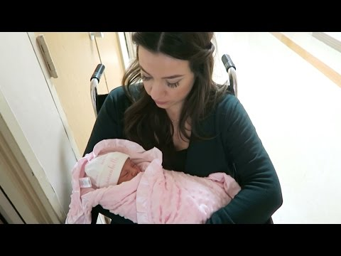 TAKING OUR NEWBORN HOME FROM THE HOSPITAL! Vlogmas Day 26 | Hayley Paige Vlogs