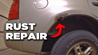 Repairing Quarter Panel Rust | Project Off Road Explorer