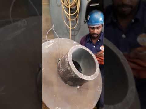 Ship welding test