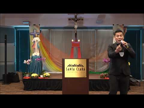 Lm Tiến Linh - Đại Hội Chúa Thánh Thần, Santa Clara Convention Center CA