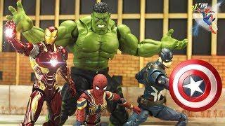 Avengers Assemble vs THANOS Fight Scene Final Episode